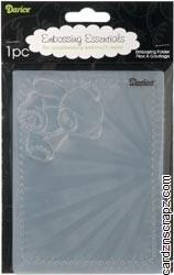Darice Embossing Folder 4.25X5.75 Baby Bear