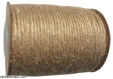 Jute Natural Roll 2mm 100m