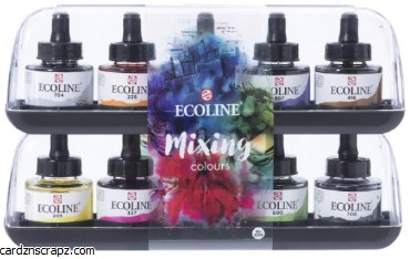 Ecoline Inks 30ml Mixing 10pk