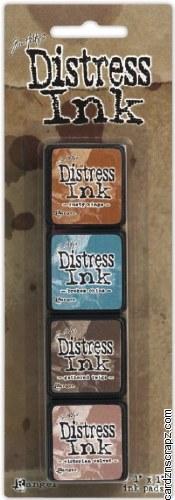 Distress Mini Ink Kits Kit 6