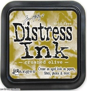 Ranger Tim Holtz Crushed Olive Distress Ink Pad