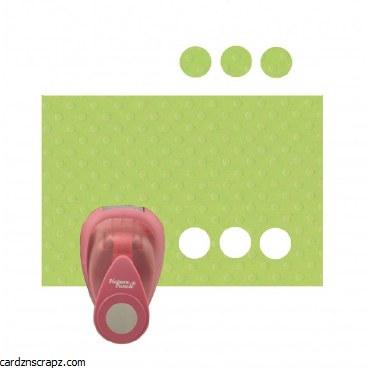 "Punch Circle Small 1.5cm-5/8"""