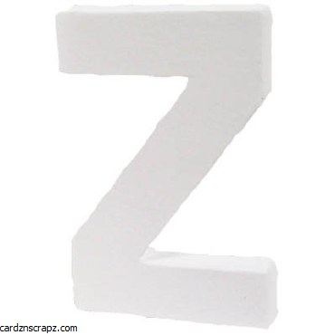 Decopatch Letter Z Height 12cm