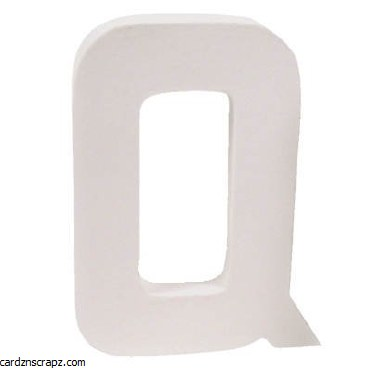 Decopatch Letter Q Height 12cm