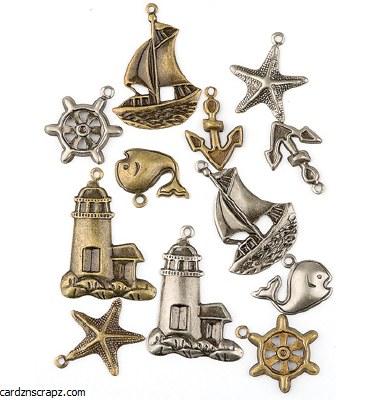 Charms Nautical 12pk