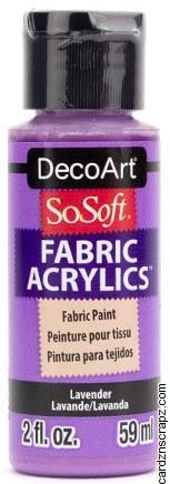 DecoArt SoSoft 59ml Lavender
