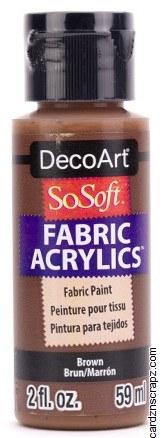 DecoArt SoSoft 59ml Brown