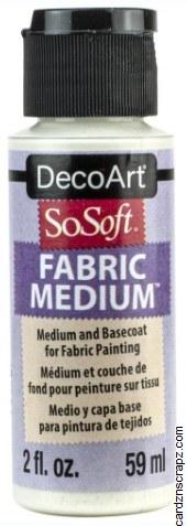 DecoArt SoSoft 59ml Transparent Medium