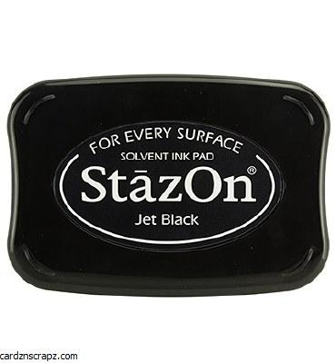 Staz-on Ink Pad Black