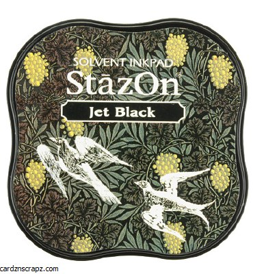 Staz-on Midi Jet Black