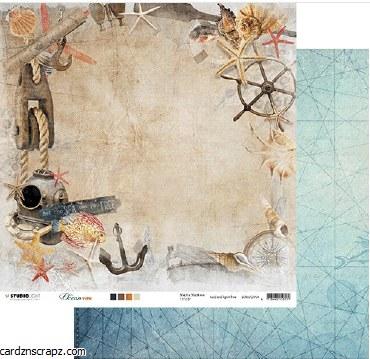 "Paper 12x12"" Studiolight Ocean View Nr.04"