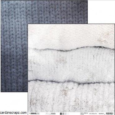 "Paper 12x12"" Studiolight Snowy Noon #3"