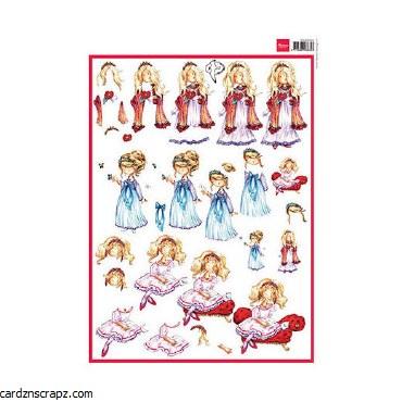 Decoupage A4 Snoesjes Princess