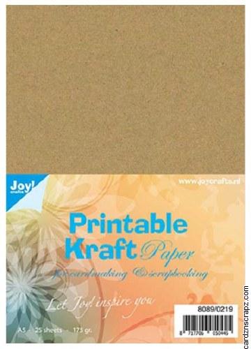 Kraft Printable A5 175g 25pk
