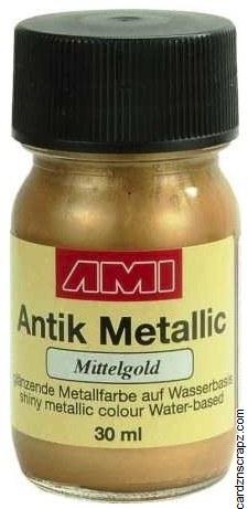 Metallic Paint 30ml - Dark Gold