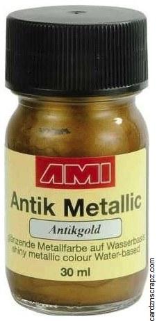 Metallic Paint 30ml - Gold