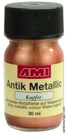 Metallic Paint 30ml - Copper