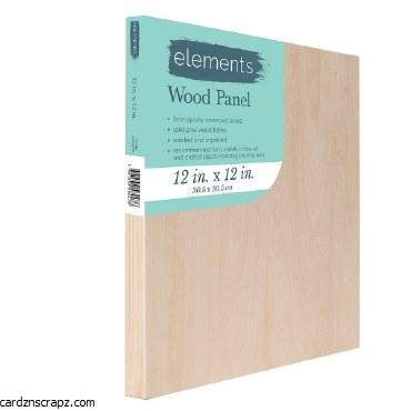"Wood Panel Elements 12x12"""