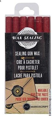 Sealing Wax Gun Stix Red 6pk