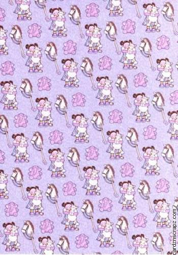 Little Pussycat Lilac Girl A4*