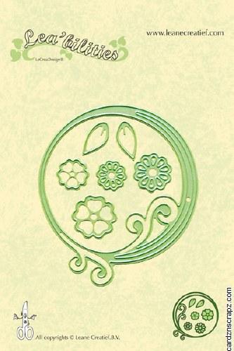 Leane Creatief Die Swirl Circle