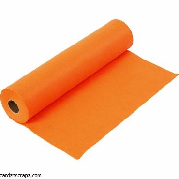 Felt 45cm 1.5mm x 5m Orange