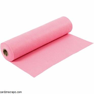 Felt 45cm 1.5mm x 5m Pink