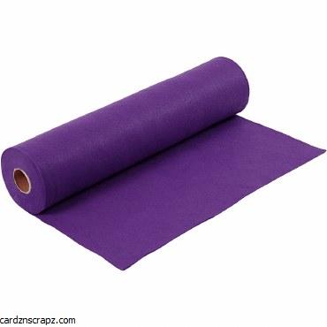 Felt 45cm 1.5mm x 5m Purple