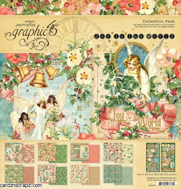 Paper Pk 8x8 G45 Joy To World