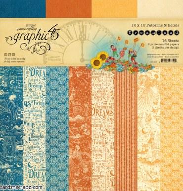 Paper Pk 12x12 G45 Pattern Drm