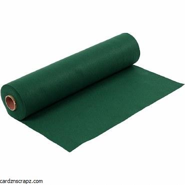 Felt 45cm 1.5mm x 5m Dark Green