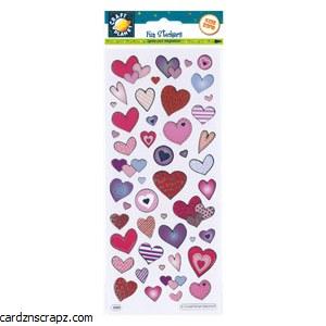 Fun Stickers Love Hearts
