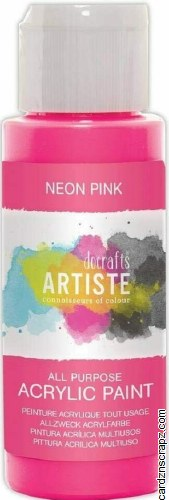 Acrylic 59ml Neon Pink