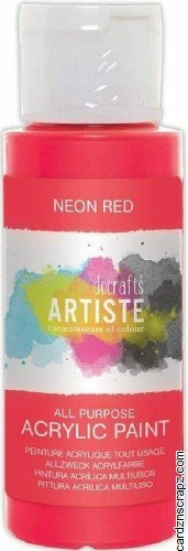 Acrylic 59ml Neon Red
