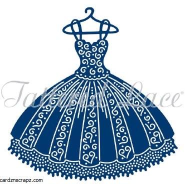 Tattered Die Pleated Dress
