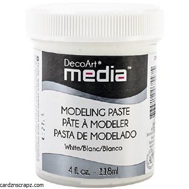 DecoArt Modeling Paste White 118ml