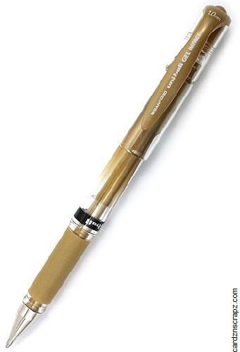 Gel Pen Uniball Gold 1mm