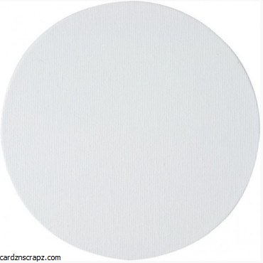 Canvas Panel 3mm Round 25cm