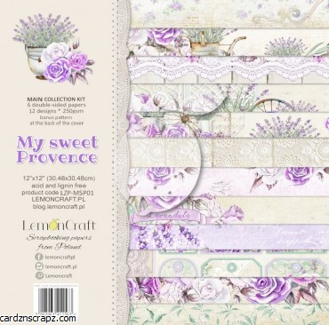Paper Pk 12x12 Lemoncraft Sweet Provence