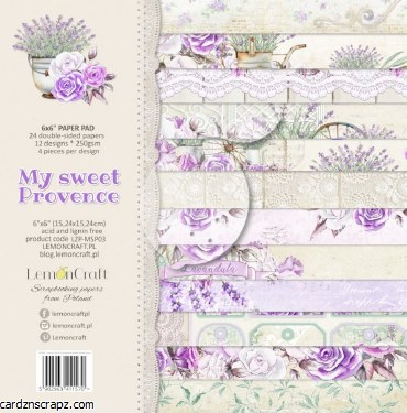Paper Pk 6x6 Lemoncraft Sweet Provence