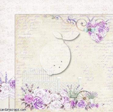 Paper 12x12 Lemoncraft Sweet Provence #2