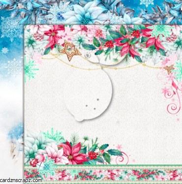 Paper 12x12 Lemoncraft Joy To The World #1