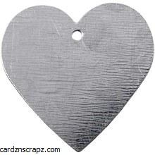 Metal Heart 30x30mm Mini 15pk