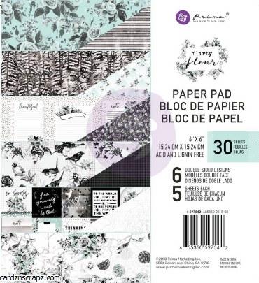 Paper Pk 6x6 Flirty Fleur