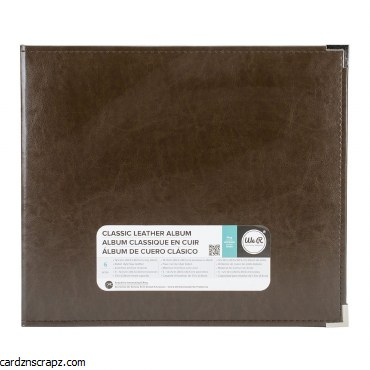 Album 12x12 We R Memory Keepers Leather Chestnut