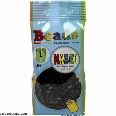 Fuse Beads 5mm 1100pk Blk