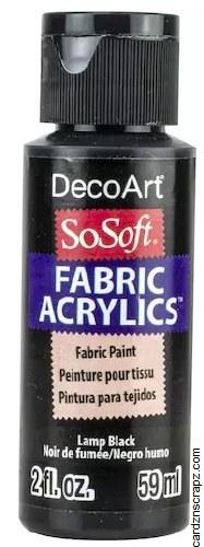 DecoArt SoSoft 59ml Black