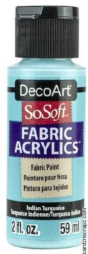 DecoArt SoSoft 59ml Turquoise Indian