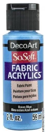 DecoArt SoSoft 59ml Blue Ocean