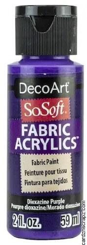 DecoArt SoSoft 59ml Purple Dioxazine